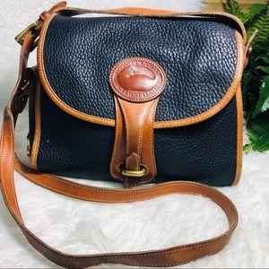 Dooney & Bourke vintage blue crossbody purse